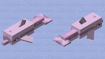 Hong Kong Pink Dolphin Minecraft Mob Skin