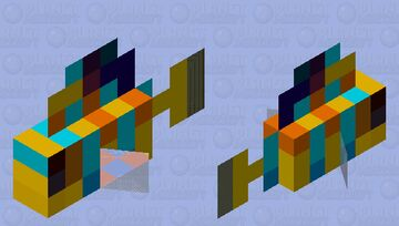 Regal Angelfish Minecraft Mob Skin