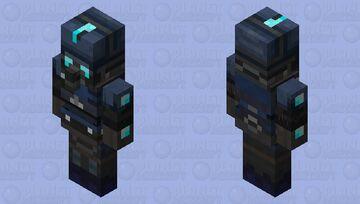combine charger modern vindicator Minecraft Mob Skin