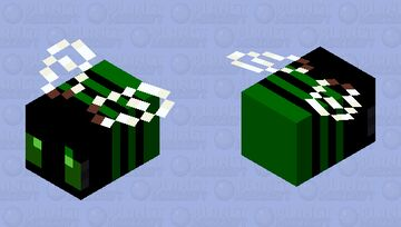Cyber bee Minecraft Mob Skin