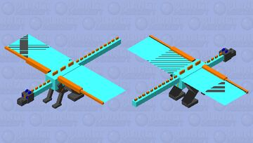 CROSS Z DRAGON Minecraft Mob Skin