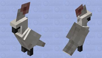 Moroccan Cockatoo Minecraft Mob Skin