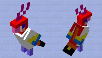 the becaw of the rainbow forest Minecraft Mob Skin