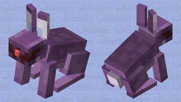 Purple Rabbit Minecraft Mob Skin