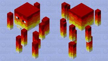 Hot Spot Minecraft Mob Skin