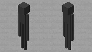 Enderman Minecraft Mob Skin