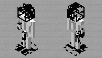 Paper skin Minecraft Mob Skin