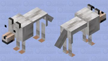 totally normal wolf Minecraft Mob Skin