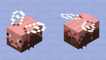 Muddy Peeg - Pig Bee pollinated variant Minecraft Mob Skin