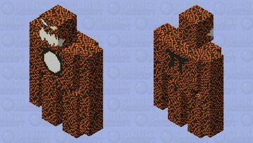 Fire Golem Minecraft Mob Skin