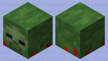 Zombie head Minecraft Mob Skin