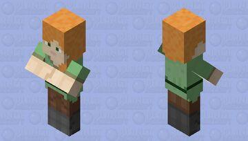 Big Brain Alex Minecraft Mob Skin