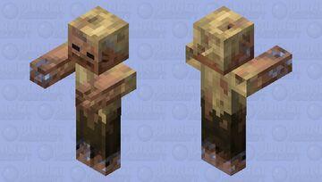 Realistic husk revamped Minecraft Mob Skin