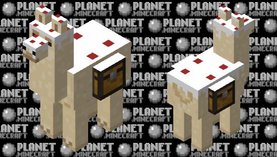 Caked llama Minecraft Skin
