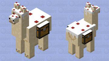 Caked llama Minecraft Mob Skin