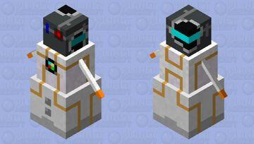 RoboSnow! Ready to fight Minecraft Mob Skin