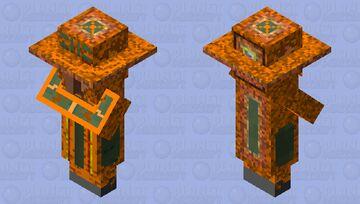 Badlands Villager Minecraft Mob Skin