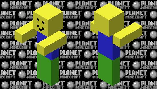 Roblox Noob Zombie Minecraft Skin