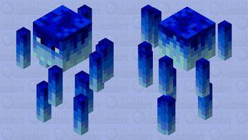 Frozen Blaze Minecraft Mob Skin