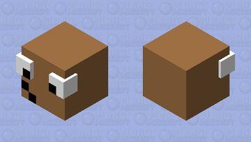 pou pixel Minecraft Mob Skin