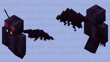 Mothman - Mythical Creatures Entry Minecraft Mob Skin