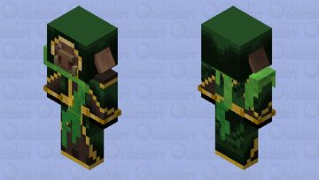 anomaly piglin Minecraft Mob Skin