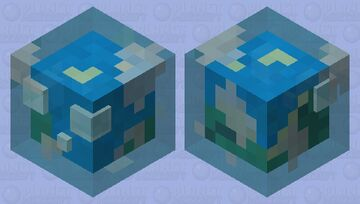 Earth Slime Minecraft Mob Skin