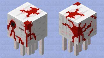 Ghast Zombie Minecraft Mob Skin