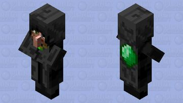 Mysterious Villager Minecraft Mob Skin