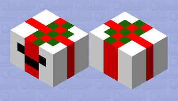 present box Minecraft Mob Skin