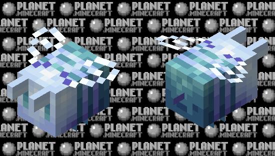 Flying Powder Puff Minecraft Skin