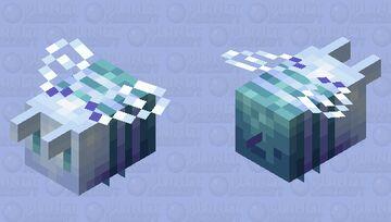 Flying Powder Puff Minecraft Mob Skin