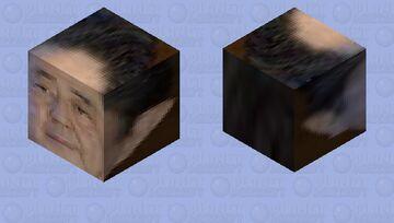 安倍晋三 Abe Shinzo Minecraft Mob Skin