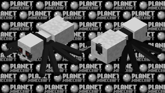 Cursed panda spider Minecraft Skin