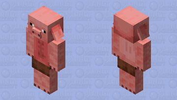Pigman/Piglin Fallen Kingdom Minecraft Mob Skin