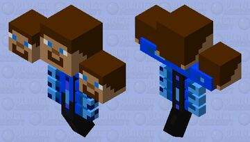 Steve Wither Minecraft Mob Skin