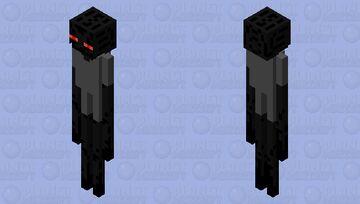 Enderman from Enderman Rap + Bug..? Minecraft Mob Skin