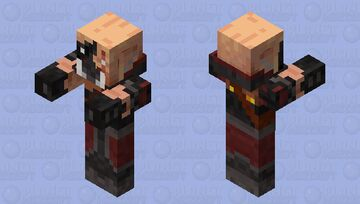 Pigman brute (1.15 and under) Minecraft Mob Skin