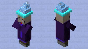 Silly Party Witch - PMC 10th Birthday - 𝕝𝕖𝕝𝕒𝕚𝕤𝕘𝕣𝕖𝕒𝕥 Minecraft Mob Skin