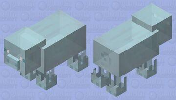 Ghost Pig Minecraft Mob Skin