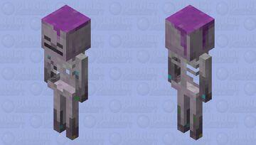 Cave Skeleton Minecraft Mob Skin