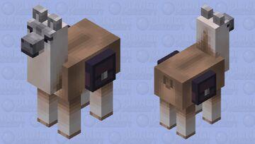 Llama Minecraft Mob Skin