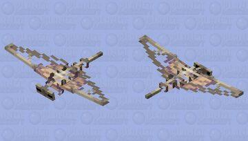 Sklantom (Skeleton Phantom) Minecraft Mob Skin