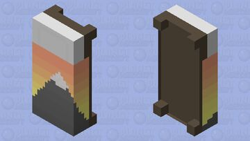 Sunset Bed . PMCRP Grab-Bag Entry Minecraft Mob Skin