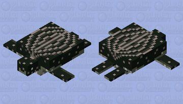 Leatherback Sea Turtle Minecraft Mob Skin