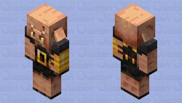 Buff Piglin Brute Minecraft Mob Skin