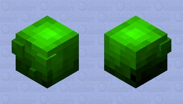 the ancient mythical spirited slime ~ce 50th place! Minecraft Mob Skin