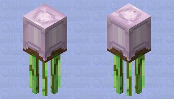 Squid Plant Minecraft Mob Skin
