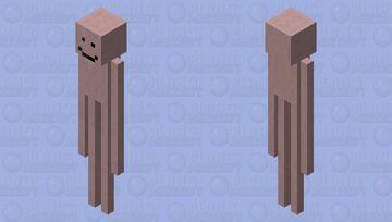 Earthworm Sally. (Flamingo.) Minecraft Mob Skin