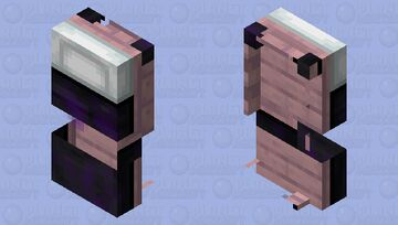 Glitched Disaster Minecraft Mob Skin